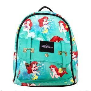 "The Little Mermaid Ariel 10"" Kids Backpack"